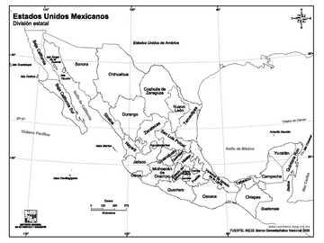 REPUBLICA MEXICANA - Ubica y arma el rompecabezas