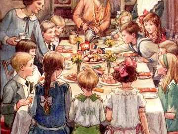 Nějaká velká rodinka u jídla - Nějaká velká rodinka u jídla