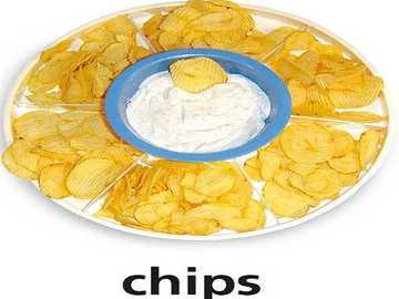 c ist für Chips - lmnop qrstuvwxyz lmnop