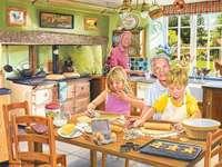 Pieczenie z babcią - Pieczenie ciasteczek z babcią