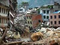 TREMOR DE TERRA - IMAGENS SOBRE DESASTRES NATURAIS