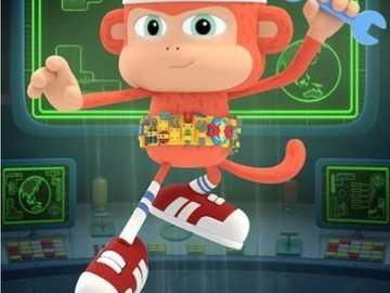 Bon Bon Boy - Ein Affe mit vielen Werkzeugen.