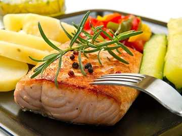 Grilled salmon - Grilled salmon recipe