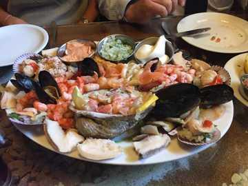 Piatto delizioso - Delizioso pesce fresco