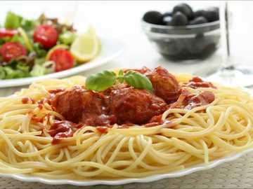 Pasta deliziosa - Spaghetti rossi e ricchi