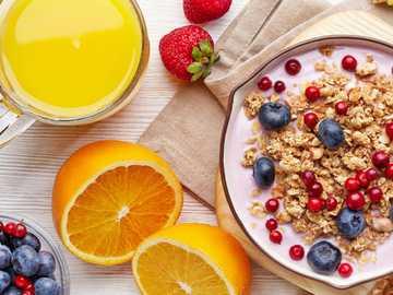 Colazione - Colazione fresca e sana