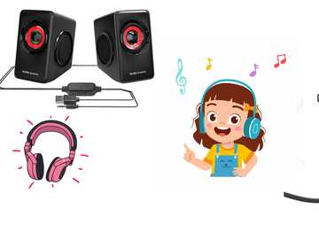 Głośniki - rozpoznaje kable zawarte w głośniku.