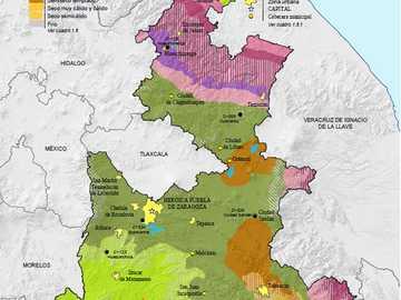 Klima Puebla 3 ° D. - Suchen Sie das Klima des Bundesstaates Puebla