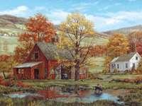 Painting. - Painting: Autumn Landscape.