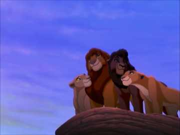 The Lion King 2 Simba's time - Happy ending