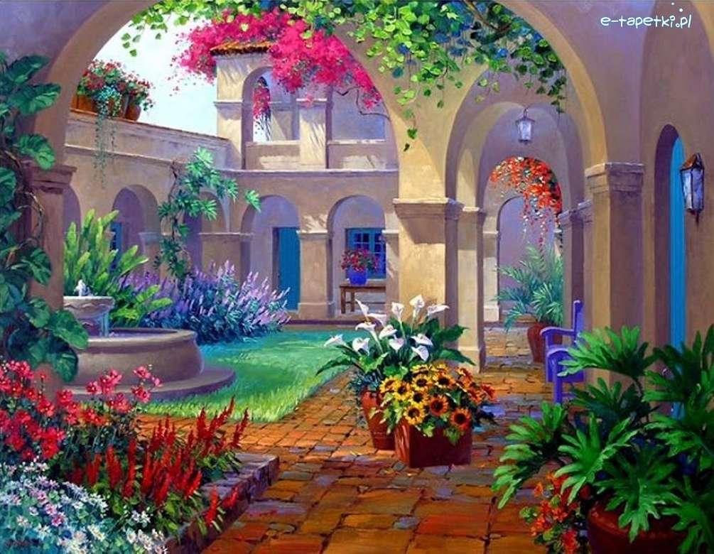 patio- flowers - m ......................