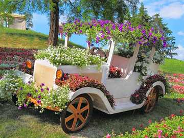 flower stand (car) - m ......................