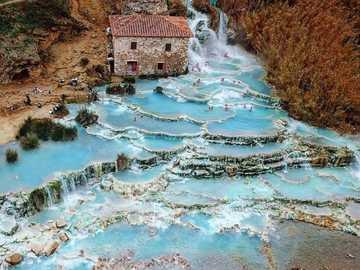 sorgenti termali in Toscana - m ......................