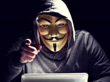 les dangers de l'Internet - dans cette image, la référence est donnée aux dangers que l'intert