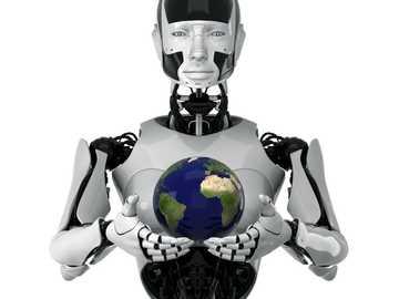 Robótica - es un rompecabezas de robótica, la idea es completarlo en el menor tiempo posible.