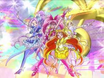 光之美少女 美樂天使(Suite Pretty Cure) - 光之美少女系列的第八部作品,屬第六代光之美少女。力量:音樂。團體口�