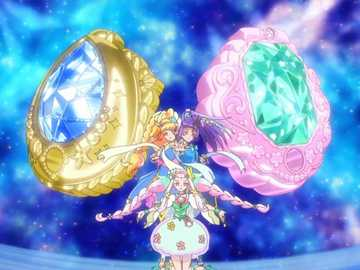 魔法使光之美少女(魔法つかいプリキュア) - 光之美少女系列的第十三部作品,屬第十一代光之美少女。力量:魔法。變�