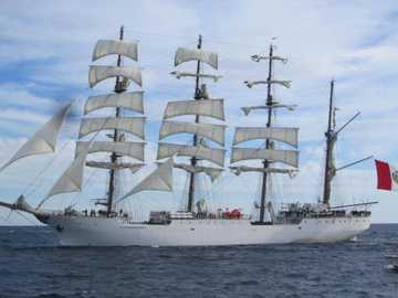 sailing ship from peru - m ......................