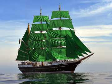 Dutch schooner Gulden Leeuw (Golden Lion) - m ......................