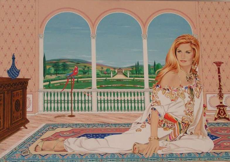 I have been an admirer of Dalida for many years - I have been an admirer of Dalida for many years