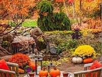 A charming corner in autumn colors - A charming corner in autumn colors