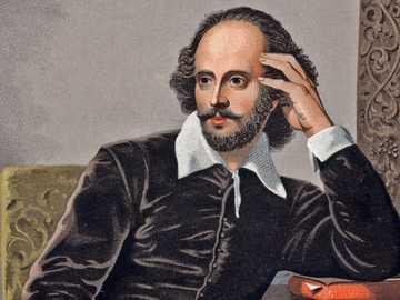 "William Shakespeare - Autor des berühmten Romans ""Romeo und Julia"""