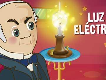 """La bombilla - Thomas Alva Edison - Armar el puzzle correspondiente al tema """"La bombilla"""""""