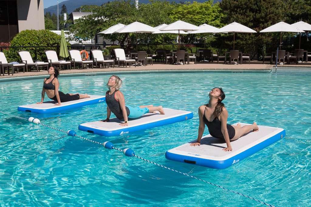 Aqua yoga - Recreational activity, practiced in hotels