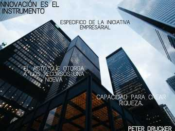 BUSINESS INITIATIVE - PHRASE BY PETER DRUKER ABOUT BUSINESS INITIATIVE