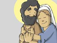 The Holy Family- - Discover and meet the holy family, its members and their values.