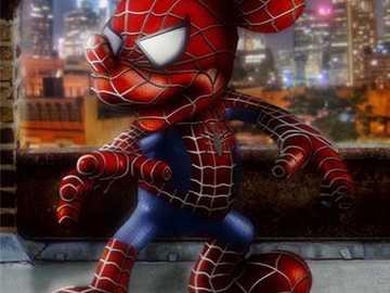 """Spider-Miki. - """"Nunca encontramos ninguém por acaso, cada palavra, olha, rajada de vento esconde o segredo da ex"""