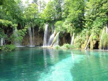 lake in croatia - m ......................