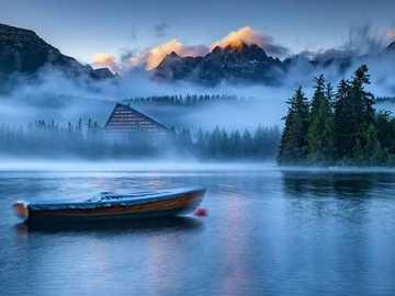 <<Tatry>> - Układanka krajobrazowa.