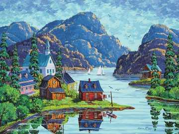 Malerei. - Kunst. Malerei. Kanada.