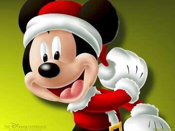Mickey de inverno - Peguei vermelhos, verdes, azuis. Peguei as sombras e as lacunas do sol. Agora costuro sonhos para vo