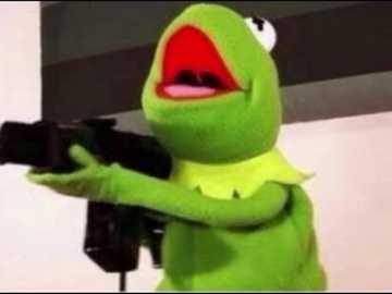 kermit avec une arme à feu - son kermit avec un pistolet