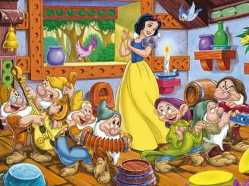 Snow White and the Seven Dwarfs - m ....................