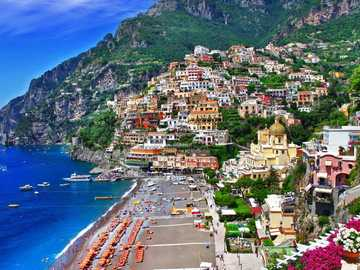 beach in sorrento - m .........................