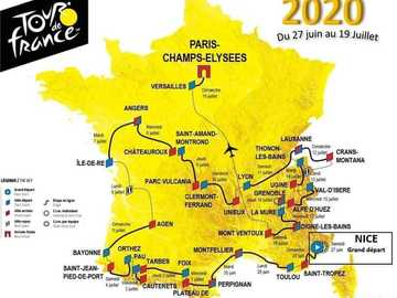 TDF 2020 - un tour de France tardif