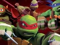 тийнейджърски мутант костенурки нинджа режим на борба