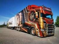 Φινλανδικό φορτηγό