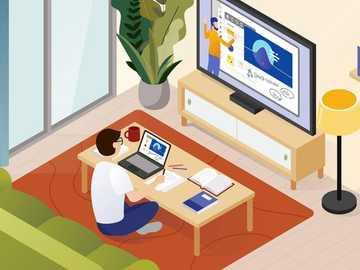 clases en línea - recibiendo clases virtuales