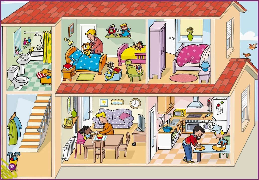 Woningen - leg de puzzel in elkaar (10×7)
