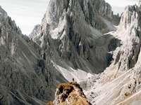 Tyrol du sud - Tyrol du Sud, Italien, Dolomites.
