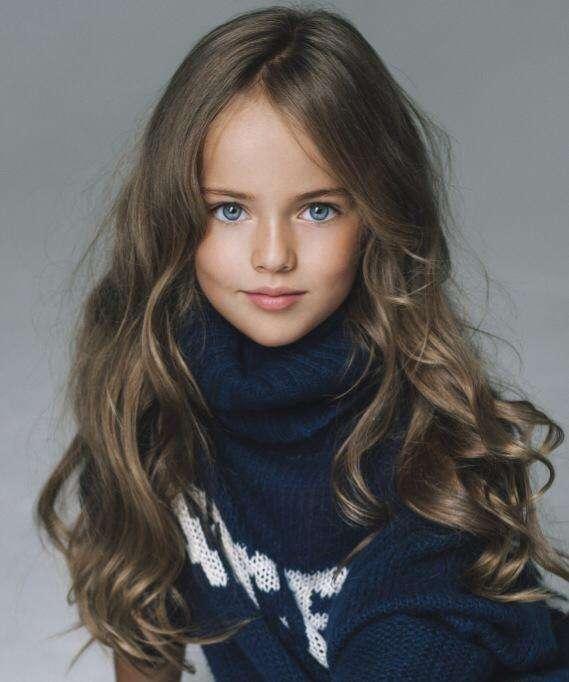 vacker tjej