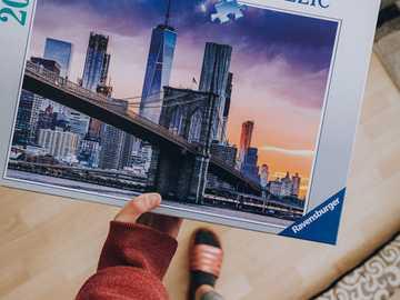 The Brooklyn Bridge - The Brooklyn Bridge, puzzle pieces