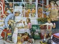 Einkaufen und Mittagessen - Einkaufen auf dem Markt