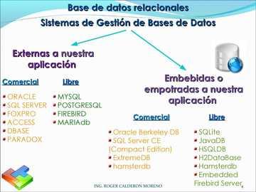 DATABASES - RELATIONAL DATABASES. DATABASE MANAGEMENT SYSTEM.