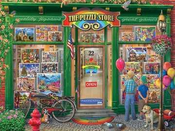 puzzle - negozio di puzzle