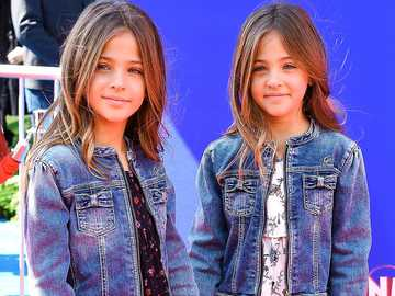 the most beautiful twins in the world - m ...................